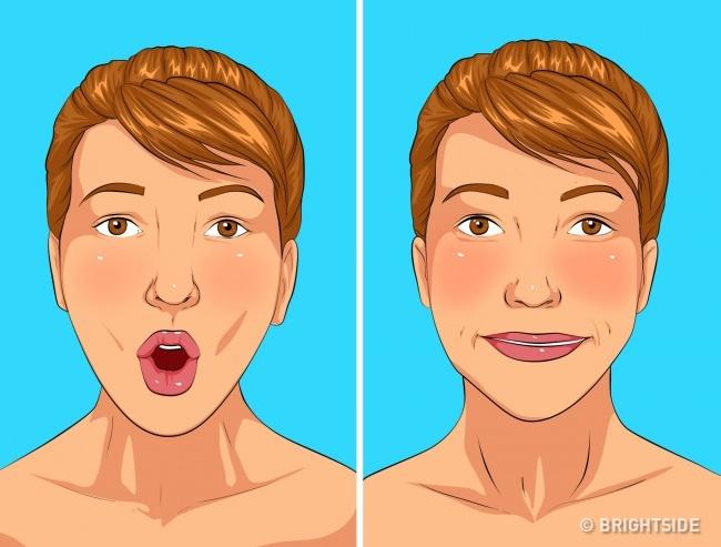 5 bài tập đơn giản làm giảm nọng cằm giúp khuôn mặt thon gọn, trẻ trung hơn - Ảnh 2