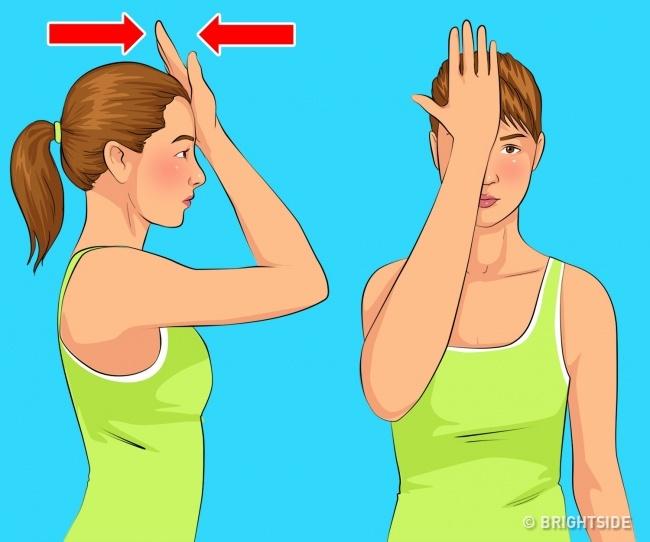 5 bài tập đơn giản làm giảm nọng cằm giúp khuôn mặt thon gọn, trẻ trung hơn - Ảnh 3