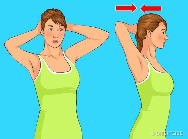 5 bài tập đơn giản làm giảm nọng cằm giúp khuôn mặt thon gọn, trẻ trung hơn - Ảnh 4