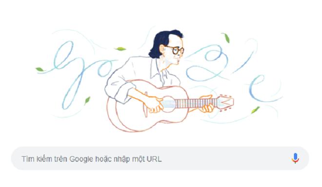 Cố nhạc sĩ Trịnh Công Sơn là người Việt Nam đầu tiên được Google Doodles vinh danh - Ảnh 1