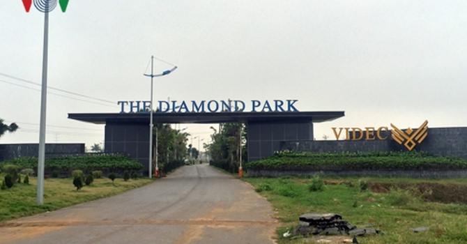 Dự án The Diamond Park Mê Linh: Chưa xây nhà ở xã hội nhưng đã bán biệt thự - Ảnh 1