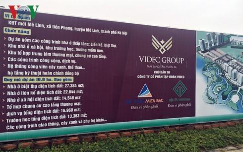 Dự án The Diamond Park Mê Linh: Chưa xây nhà ở xã hội nhưng đã bán biệt thự - Ảnh 2