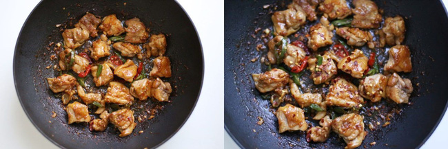 Trời lạnh ăn cơm với gà rang cay là ngon miễn chê - Ảnh 4
