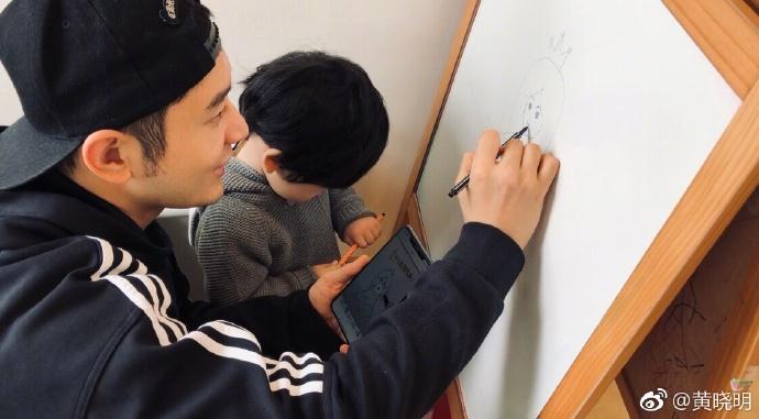 Giữa tâm bão ly hôn, Huỳnh Hiểu Minh và con trai gửi lời chúc siêu ngọt ngào tới Angela Baby - Ảnh 5