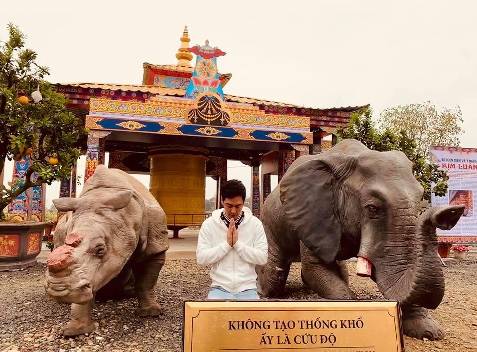 MC Phan Anh đau lòng khi nhiều quán đặc sản động vật hoang dã mọc lên cạnh chùa chiền - Ảnh 1