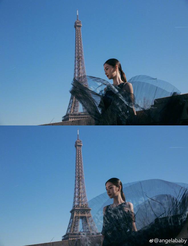 Thả dáng tại Paris, Angela Baby chứng minh đẳng cấp nhan sắc tựa công chúa bước ra từ cổ tích - Ảnh 2