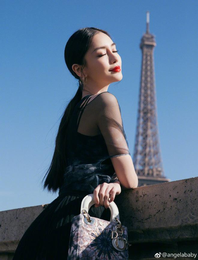 Thả dáng tại Paris, Angela Baby chứng minh đẳng cấp nhan sắc tựa công chúa bước ra từ cổ tích - Ảnh 4