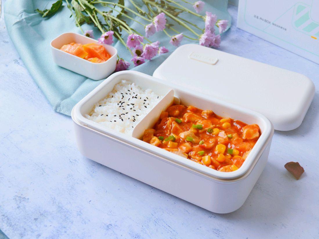 Hạn chế ra ngoài, mách bạn cách làm hộp cơm trưa siêu tốc chỉ cần 1 món thôi mà cũng ngon và đủ chất - Ảnh 5