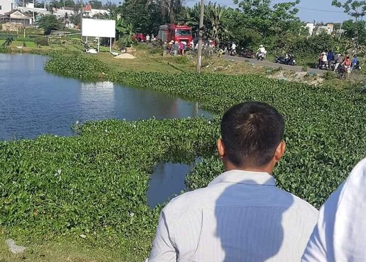 Bơi qua hồ khi đi câu cá, nam thanh niên ở Quảng Nam đuối nước thương tâm - Ảnh 1