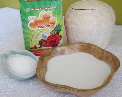 Cách làm thạch dừa ngon tươi mát cho ngày hè - Ảnh 1