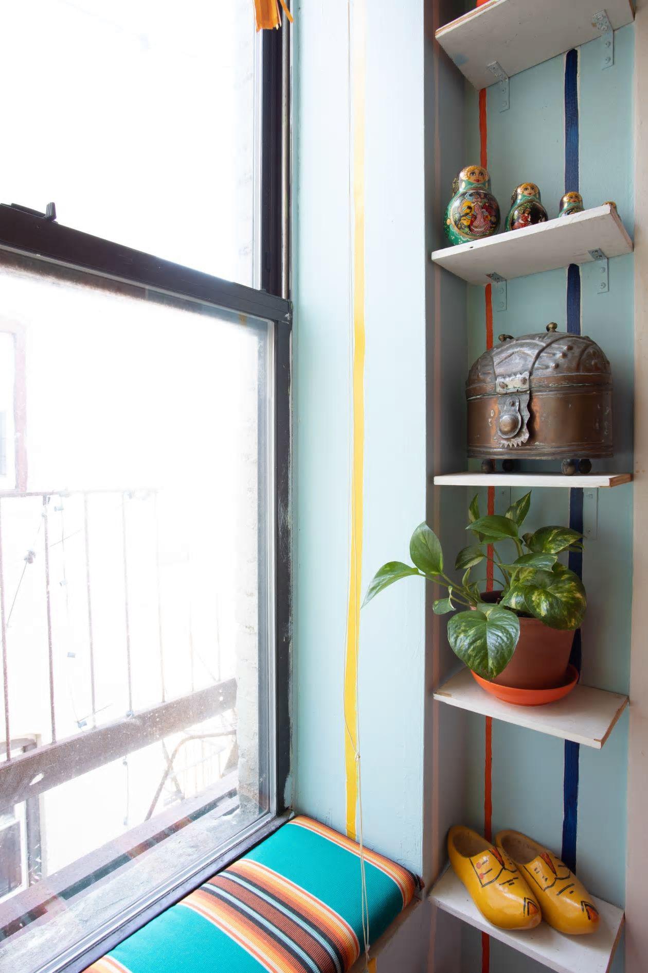 Căn hộ nhỏ 37m² sử dụng những màu sắc đáng kinh ngạc trong trang trí nội thất - Ảnh 9