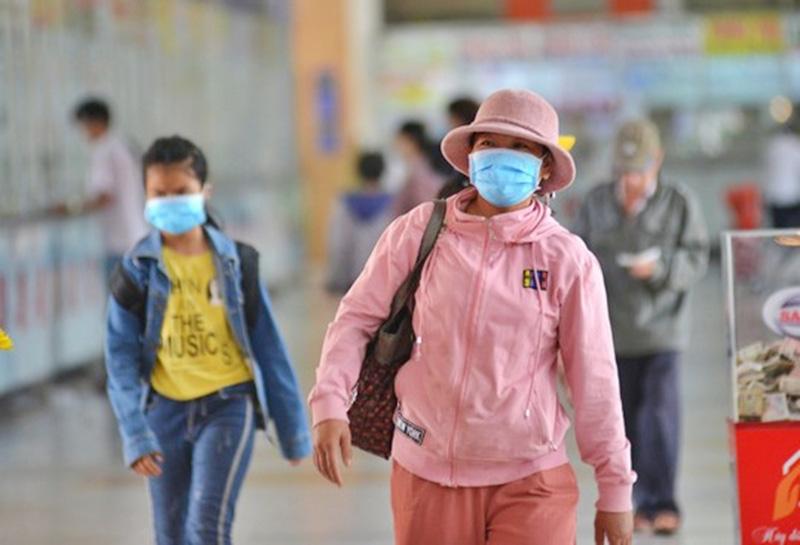 TP.HCM: Một trường hợp không đeo khẩu trang tại quận Tân Bình đã bị xử phạt 200.000 đồng - Ảnh 1