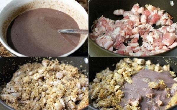 Cách làm món thịt ba chỉ kho mắm ruốc sả béo ngậy hấp dẫn lòng người - Ảnh 2