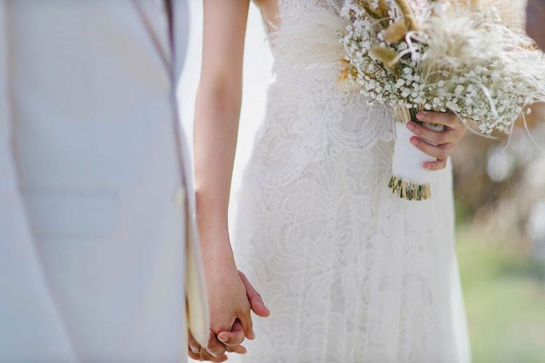 Cận cảnh đám cưới đẹp như mơ của mỹ nam 'Cung Tâm Kế' và bạn gái 5 năm - Ảnh 8