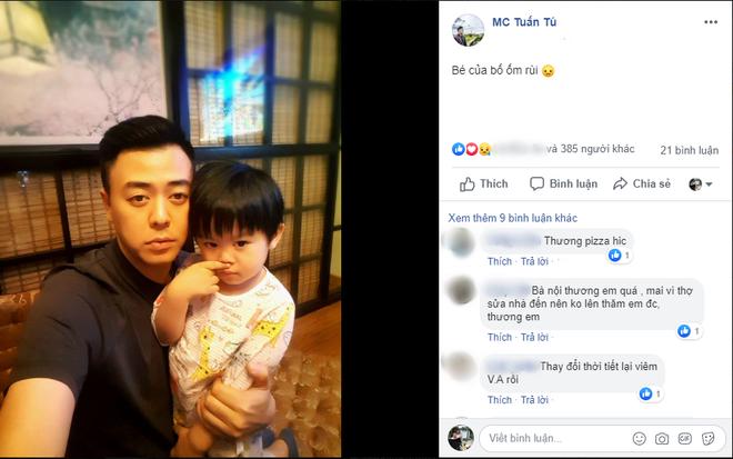 Không kém trên phim, MC Tuấn Tú 'Về nhà đi con' cũng gây 'sốt' bởi hình ảnh ông bố siêu dễ thương ngoài đời thực - Ảnh 2