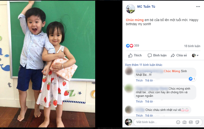 Không kém trên phim, MC Tuấn Tú 'Về nhà đi con' cũng gây 'sốt' bởi hình ảnh ông bố siêu dễ thương ngoài đời thực - Ảnh 5