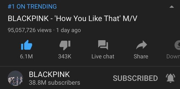 BLACKPINK vừa lập kỉ lục view thế giới với 'How You Like That' thì lập tức bị YouTube trừ view thẳng tay, may là con số này không nhiều như BTS - Ảnh 1