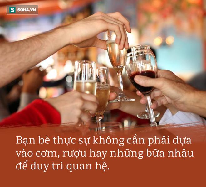 Người đã ở tuổi trung niên, có 3 loại rượu không uống, 3 việc không làm và 3 người không chơi - Ảnh 2