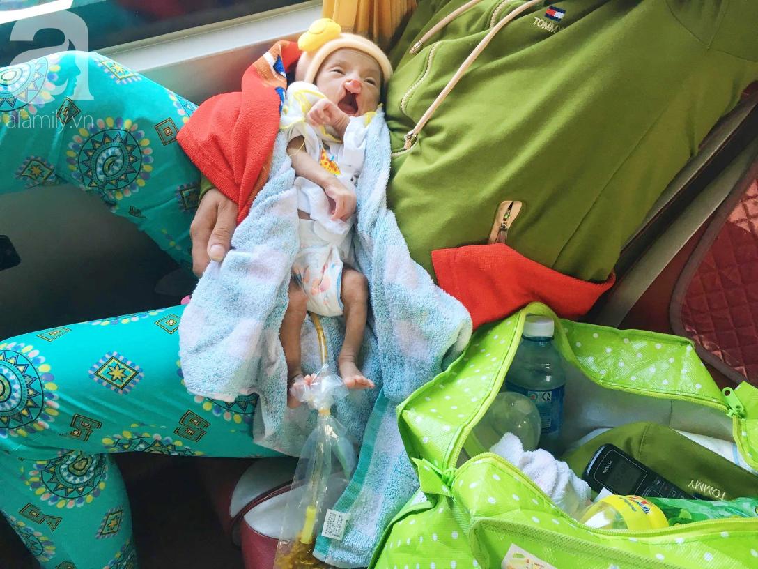 Xót cảnh bé trai 2 tháng tuổi suy dinh dưỡng, nặng chỉ 2 ký mà mẹ nghèo không đủ tiền đưa lên Sài Gòn chữa bệnh - Ảnh 6