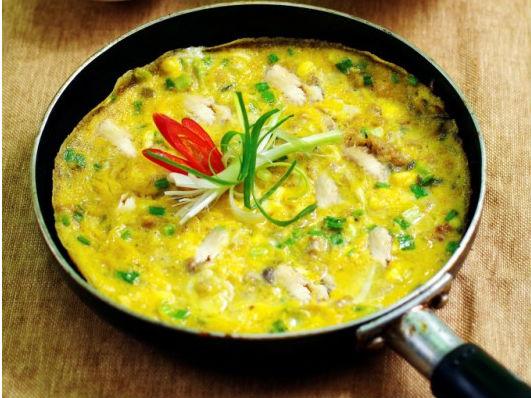 Đổi vị với món trứng chiên phô mai cho bữa sáng - Ảnh 1