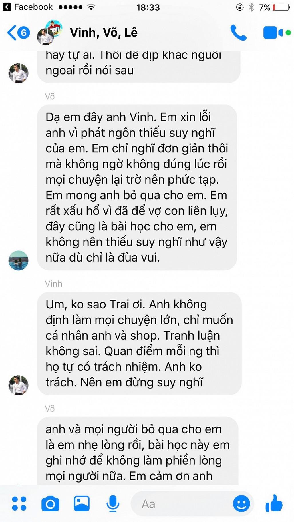 Vợ chồng Ngọc Trai xin lỗi Trương Thế Vinh vì đùa không đúng lúc - Ảnh 5