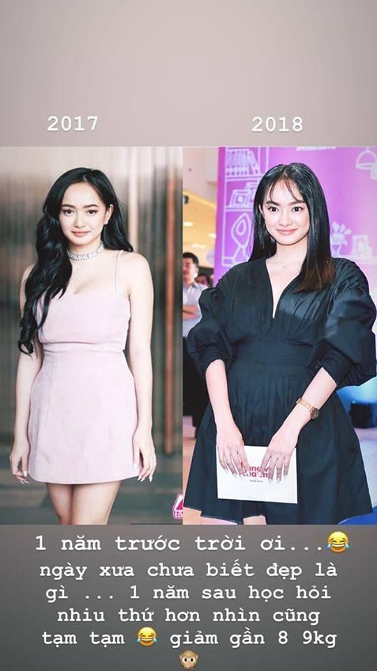 Kaity Nguyễn tiết lộ bí quyết giảm gần 9 kg sau một năm - Ảnh 1