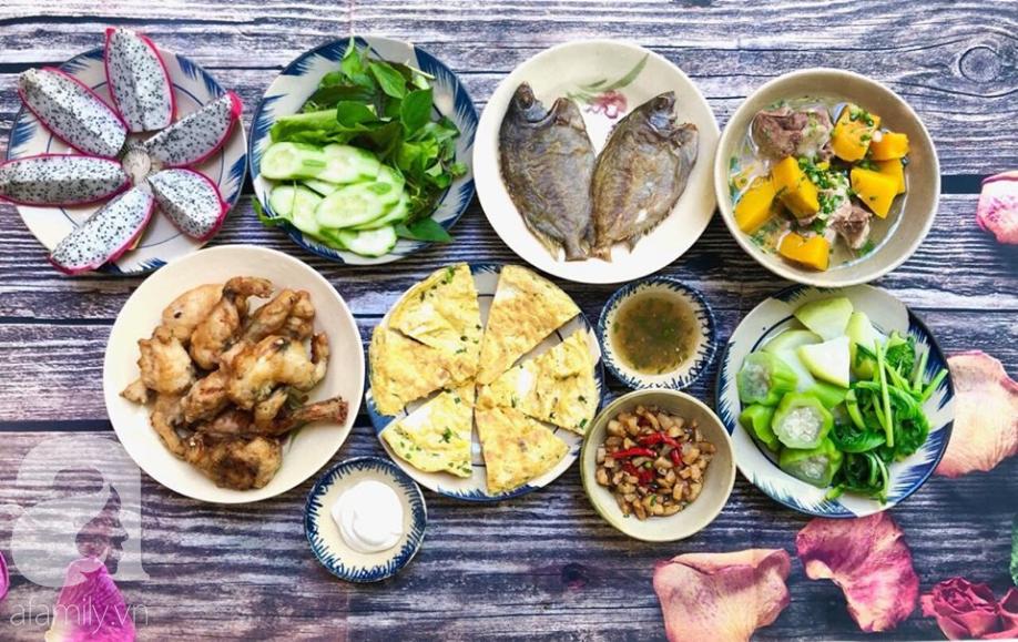 Khỏi lo thiếu ý tưởng đi chợ với 6 mâm cơm ngon đẹp 10 phân vẹn 10 của mẹ đảm Nha Trang chia sẻ - Ảnh 5