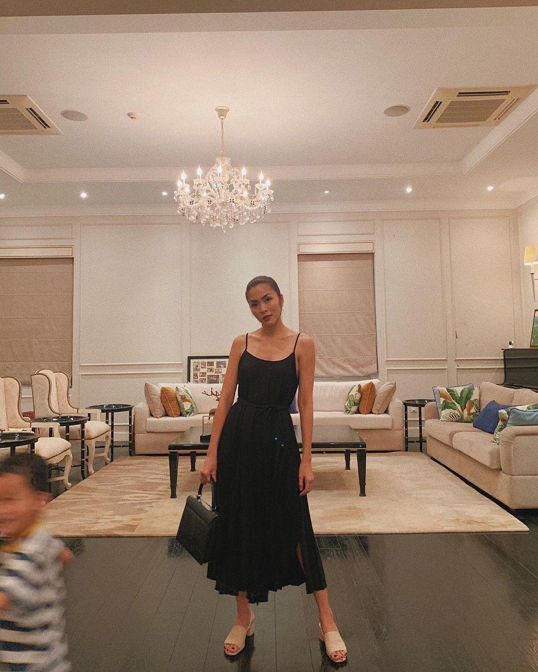 Nhờ một mẫu váy: Hà Tăng, Phạm Quỳnh Anh và Đàm Thu Trang khiến người ta nín lặng trước vẻ sexy và sang chảnh tột bậc - Ảnh 1