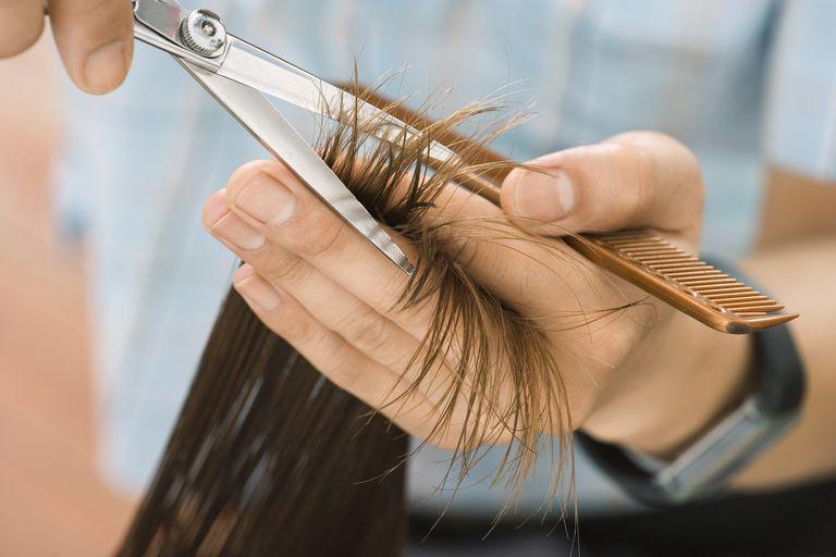 Mùa này tóc rất dễ chẻ ngọn nên hãy làm ngay những điều sau để có mái tóc đẹp - Ảnh 3