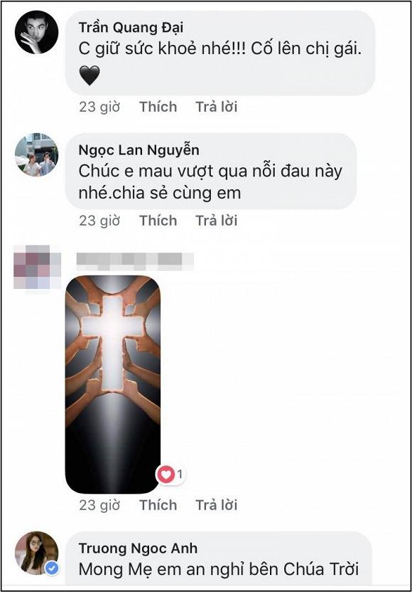 Diễm My 9x thay mặt gia đình cám ơn mọi người sau tang lễ của mẹ, dàn sao Việt đồng loạt gửi lời động viên hết lòng - Ảnh 2