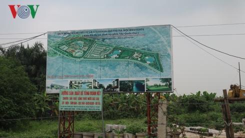 Dự án Khu đô thị Hà Nội Westgate 10 năm vẫn là bãi đất trống - Ảnh 1