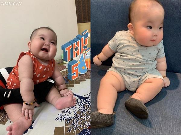 Nhìn đôi má bánh bao của 'cậu bé Bút Chì' phiên bản đời thực, chẳng ai ngờ bé từng sinh non đến 1 tháng - Ảnh 4