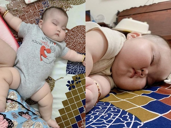 Nhìn đôi má bánh bao của 'cậu bé Bút Chì' phiên bản đời thực, chẳng ai ngờ bé từng sinh non đến 1 tháng - Ảnh 5