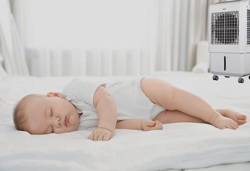 6 nguyên tắc khi cho trẻ nằm điều hòa, tránh các bệnh về đường hô hấp - Ảnh 2