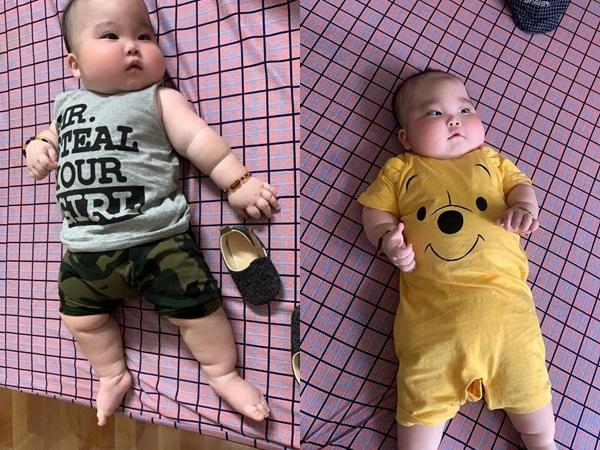 Nhìn đôi má bánh bao của 'cậu bé Bút Chì' phiên bản đời thực, chẳng ai ngờ bé từng sinh non đến 1 tháng - Ảnh 7