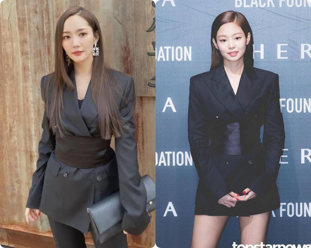 Sang chảnh như Jennie (Black Pink) vẫn lép vế toàn tập trước Park Min Young: Đúng là 'gừng càng già càng cay' - Ảnh 7