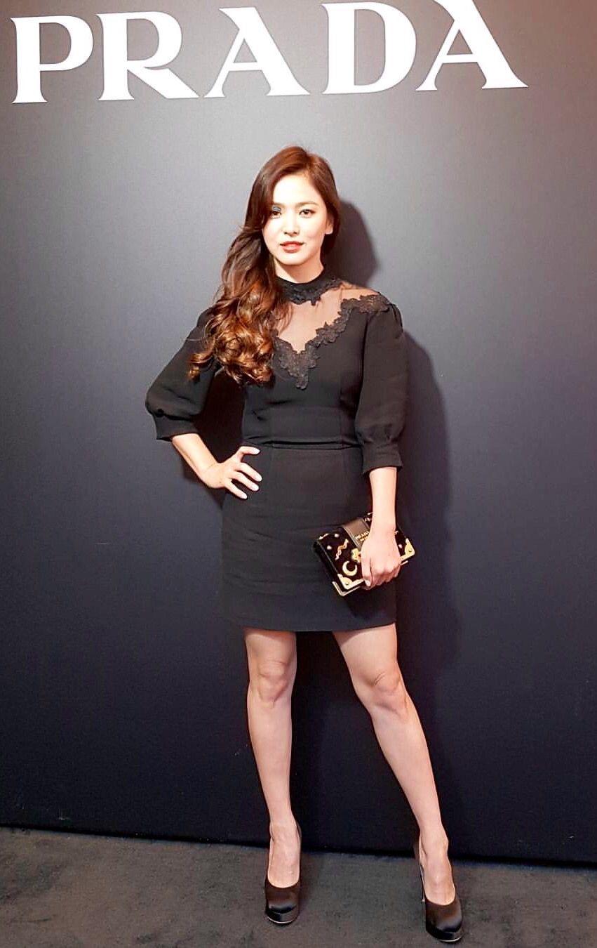 Rút kinh nghiệm từ Song Hye Kyo, chị em sẽ biết mẫu giày nào nên - không nên diện nếu sở hữu cặp chân ngắn và hơi thô - Ảnh 2