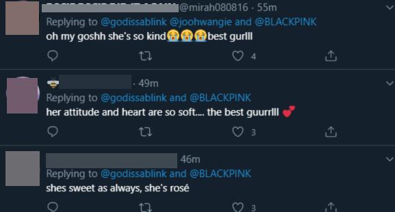 Thấy nhóm tân binh chần chừ vì phải đứng trước BLACKPINK, Rosé chủ động 'giải vây' khiến fan nở mày nở mặt tự hào về idol - Ảnh 2