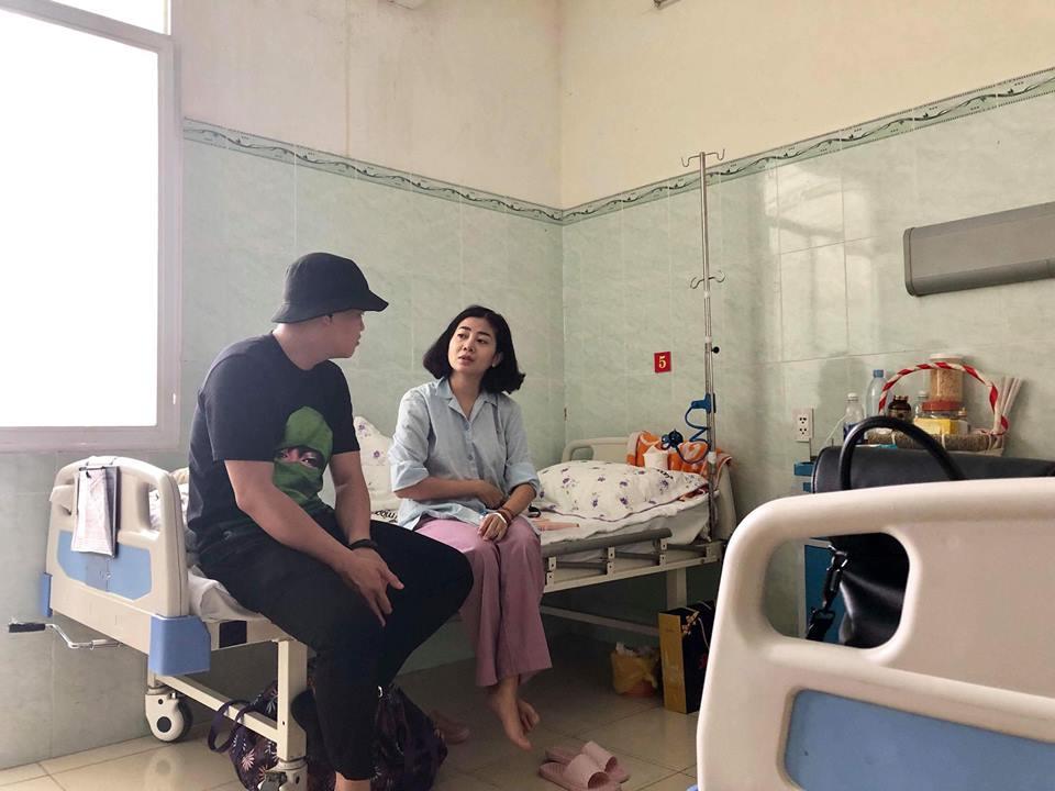 Không thể về nước vì bận chăm con nhỏ, Thanh Thảo làm điều ý nghĩa giúp Mai Phương trị bệnh ung thư - Ảnh 3