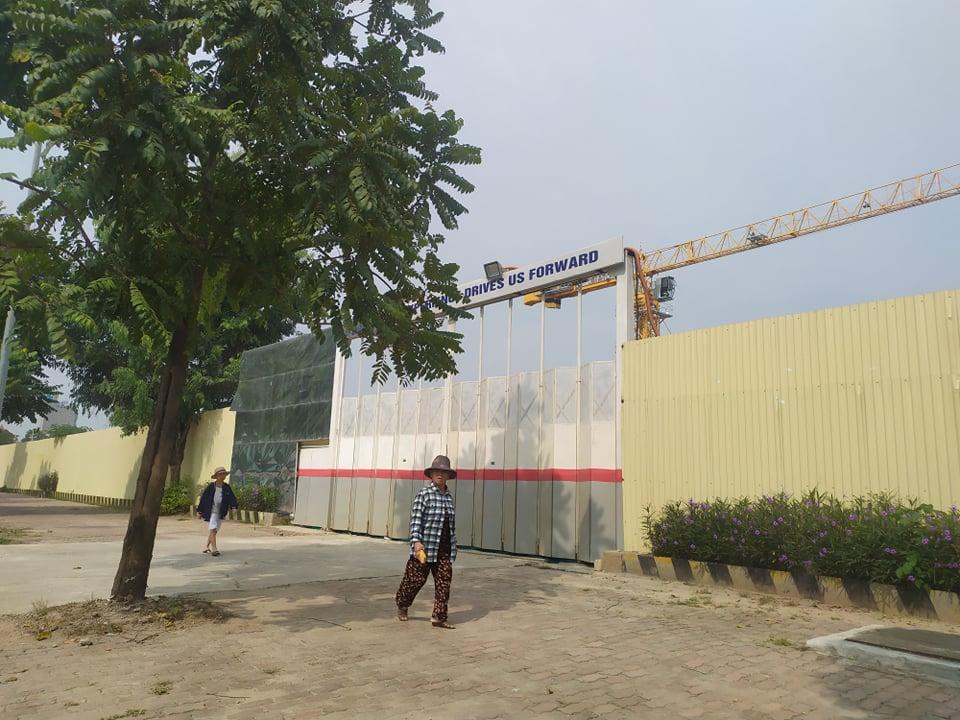 Hà Nội: Công trình bệnh viện An Sinh rầm rộ thi công khi chưa có giấy phép - Ảnh 1