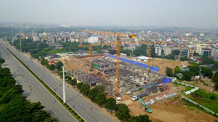 Hà Nội: Công trình bệnh viện An Sinh rầm rộ thi công khi chưa có giấy phép - Ảnh 2