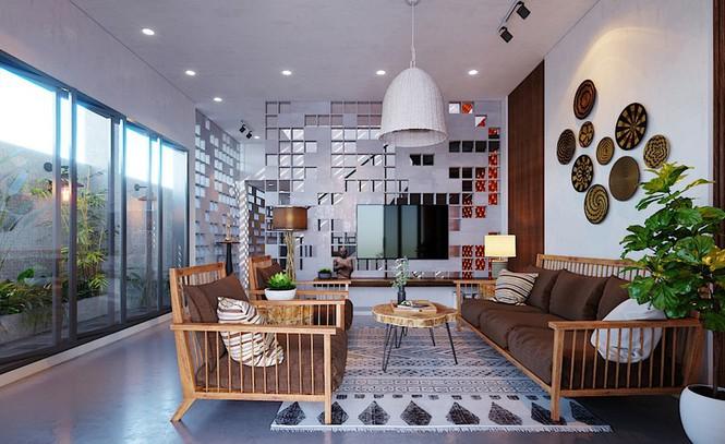 Các kiểu nội thất gỗ mộc vẫn khiến ngôi nhà đẹp nao lòng - Ảnh 3