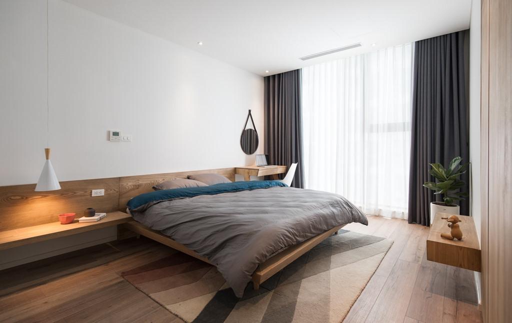 Căn hộ view Hồ Tây được cải tạo với nội thất gỗ tần bì - Ảnh 9