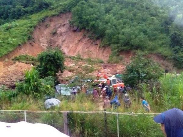 Khánh Hòa: Đã tìm thấy thi thể 3 người chết do sạt lở núi - Ảnh 1