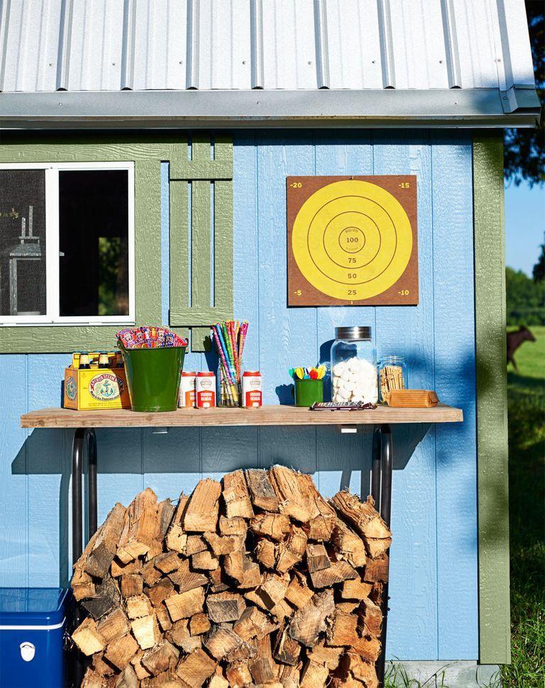 8 mẹo đơn giản thiết kế nhà kho phía sân sau thành góc thư giãn đẹp như tranh vẽ - Ảnh 12