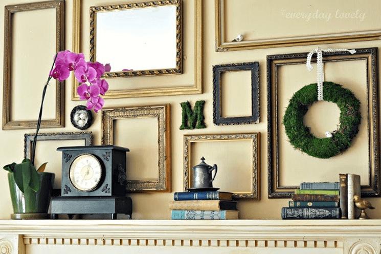 Đừng vội vứt khung ảnh cũ vì bạn sẽ có hẳn 9 cách tái sử dụng hữu ích cho không gian sống của gia đình - Ảnh 3