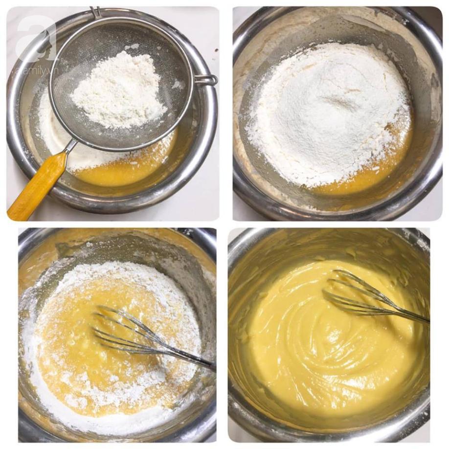 Vụng mấy cũng làm được bánh bông lan nho ngon mềm ăn mãi không chán - Ảnh 4