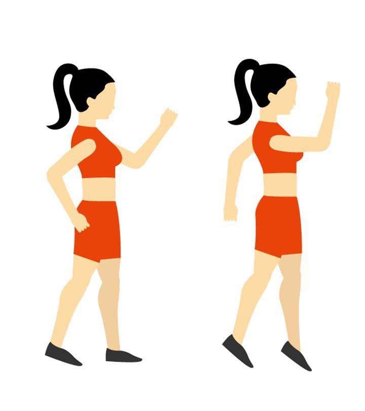 Nhảy cắt kéo - bài tập đơn giản giúp làm săn chắc toàn bộ cơ thể - Ảnh 1