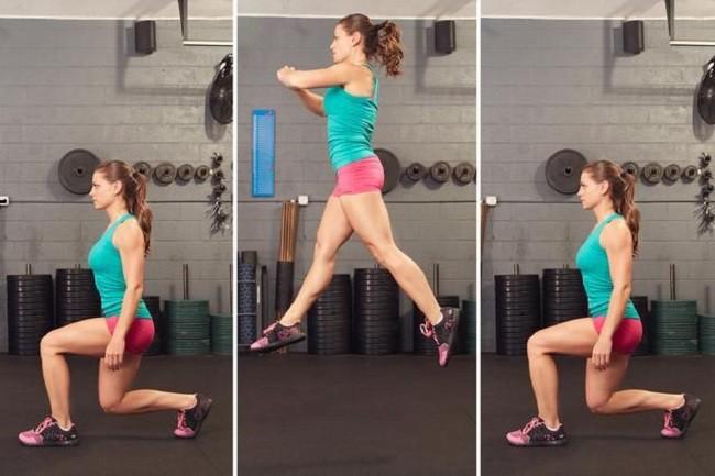 Nhảy cắt kéo - bài tập đơn giản giúp làm săn chắc toàn bộ cơ thể - Ảnh 3