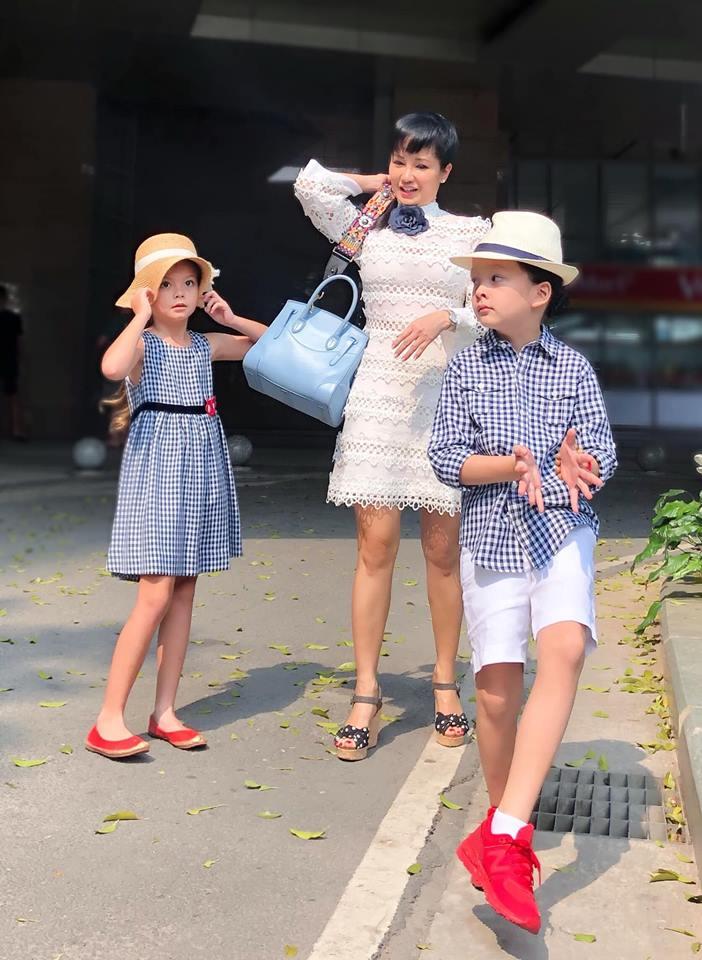 Giữa ồn ào chồng cũ sắp có con, Hồng Nhung 'ở ẩn' để thiền, dạy con cách sống tự lập - Ảnh 2